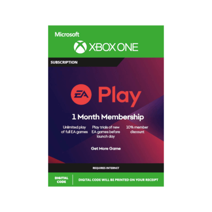 EA Play – 1 Month Subscription (Xbox)