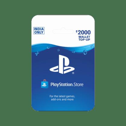 PlayStation Wallet Top Up INR 2000 (India)
