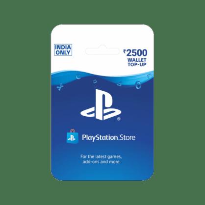 PlayStation Wallet Top Up INR 2500 (India)
