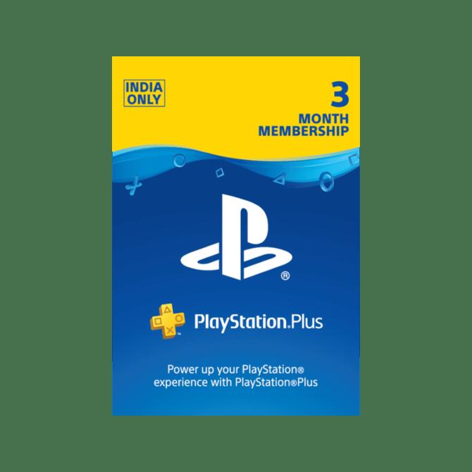PlayStation Plus 3 Month Membership (India)