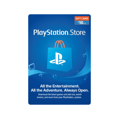 $10 PlayStation Store Gift Card (US)