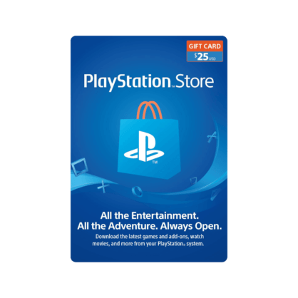 $25 PlayStation Store Gift Card (US)