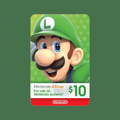 $10 Nintendo eShop Gift Card (US)