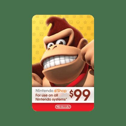 $99 Nintendo eShop Gift Card (US)