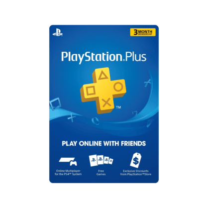 PlayStation Plus 3 Month Membership (US)