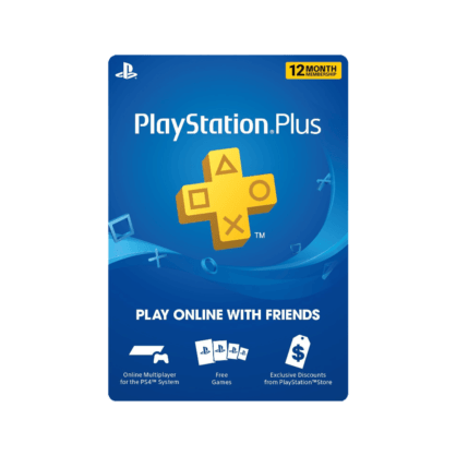 PlayStation Plus 12 Month Membership (US)