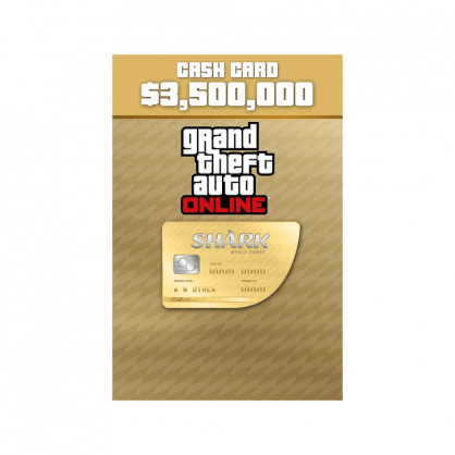 Grand Theft Auto Online: Whale Shark Cash Card $3,500,000 (PC)