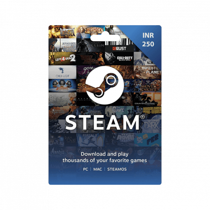 Steam Wallet Gift Card INR 250 (India)