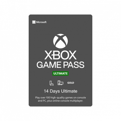 Xbox Game Pass Ultimate – 14 Days Subscription (Xbox / Windows 10)