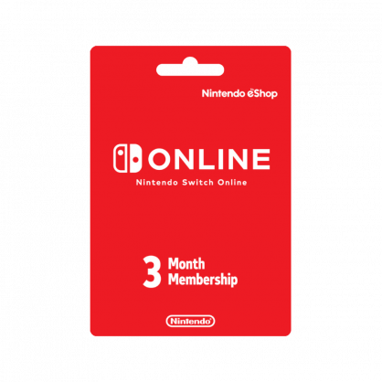 Nintendo Switch Online 3-Month Individual Membership (US)