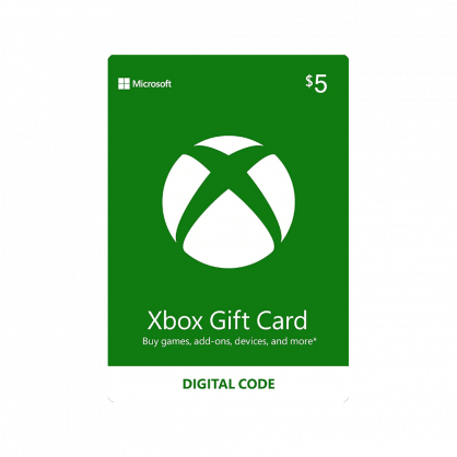 $5 Xbox Gift Card (US)