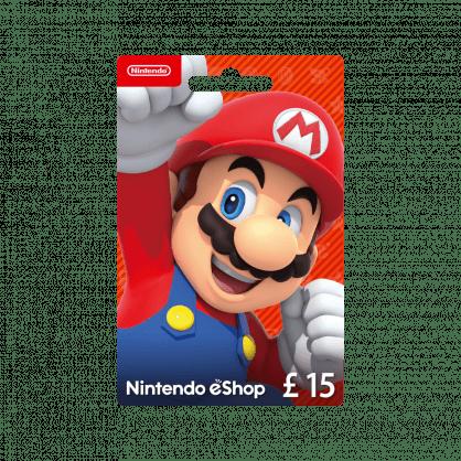 Nintendo eShop £15 Gift Card (UK)