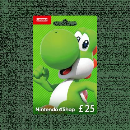 Nintendo eShop £25 Gift Card (UK)