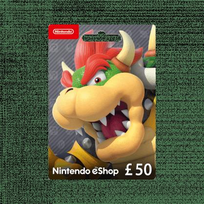 Nintendo eShop £50 Gift Card (UK)