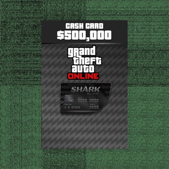 Grand Theft Auto Online: Bull Shark Cash Card $500,000 (PC)