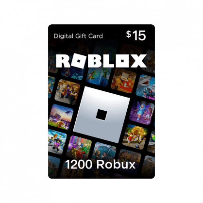 Roblox $15 Gift Card – 1200 Robux